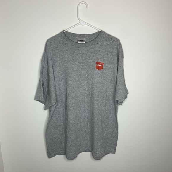 Nike Other - Vintage Nike Mens XL Grey Athletics Courage Commit